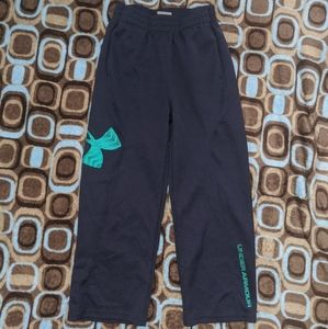 Boys under armour light weight material pants.